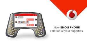 Das Telefon für ausdrucksstarke Nachrichen (Foto: Vodafone)