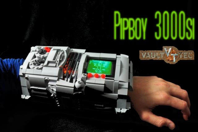 Der Pip-Boy aus LEGO. (Foto: flickr)
