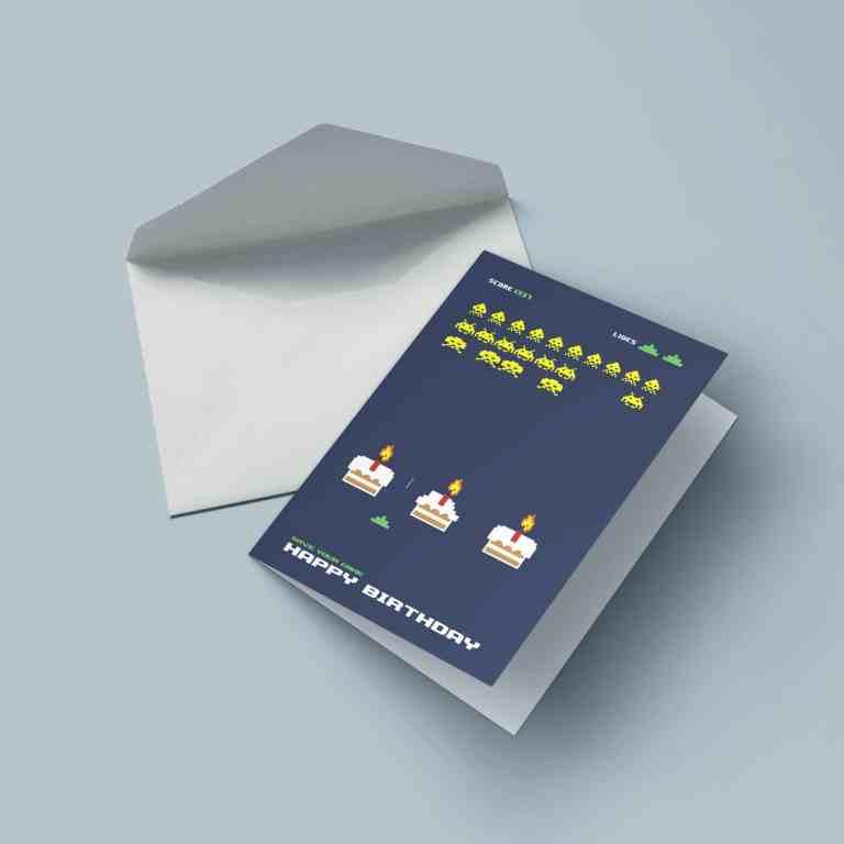 Cake Invaders. (Foto: Nerd-Cards.de)