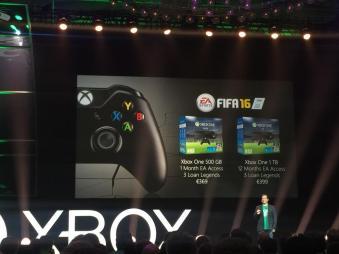 Die auf der Gamescom kommunizierten Preisempfehlungen. (Foto: EA)