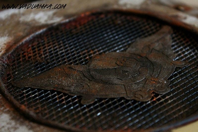 Ein aufwändig gestaltetes Logo. (Foto: Vadu Amka)