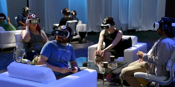 Auf der Oculus Connect 2. Zombies. (Foto: Samsung Mobile)