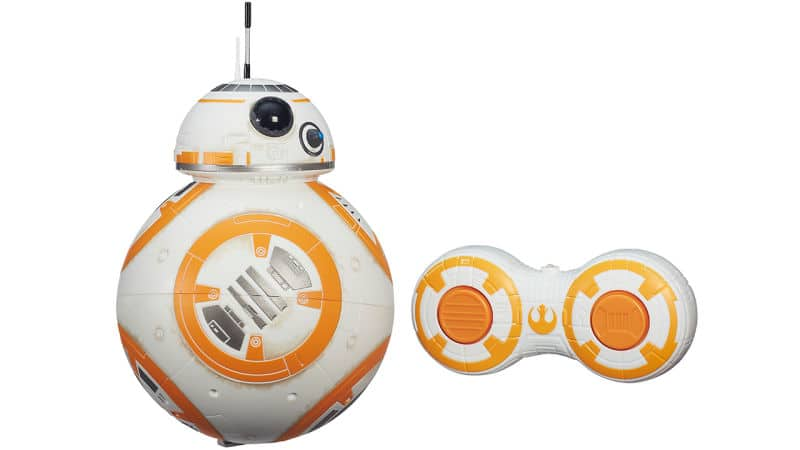 Sieht nicht ganz so toll wie der BB-8 von Orbotix aus. (Foto: Hasbro)