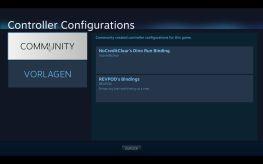 Einstellungen für jedes Spiel. (Foto: GamingGadgets.de / Screenshot)