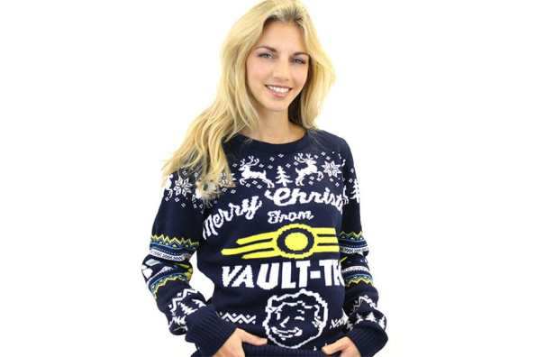 Fallout 4 Christmas Jumper. (Foto: Funstock)