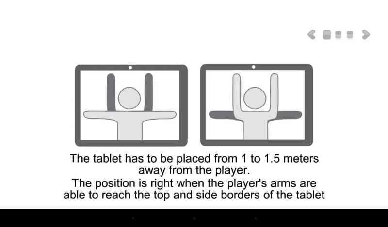 Englische Erklärung, wie ihr die Motion Games verwendet. (Foto: Screenshot)
