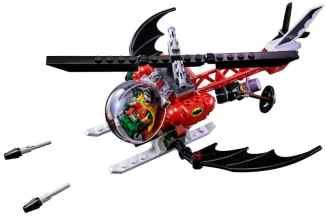 Der Batcopter. (Foto: LEGO)