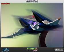 Star Fox Arwing. (Foto: First 4 Figures)