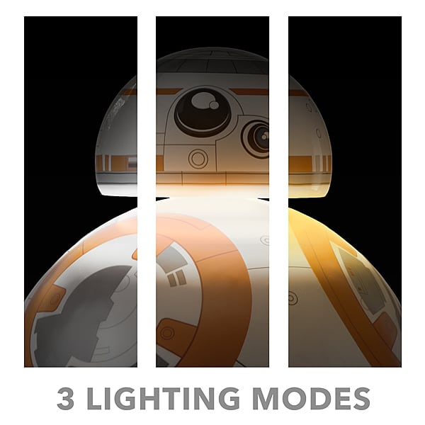 Mit drei Leuchtmodi. (Foto: ThinkGeek)