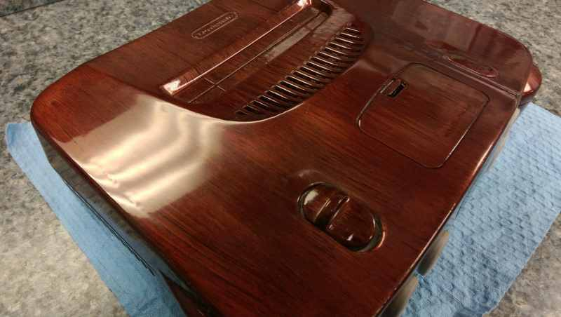 Glänzendes Holz? (Foto: Marshall Clark)