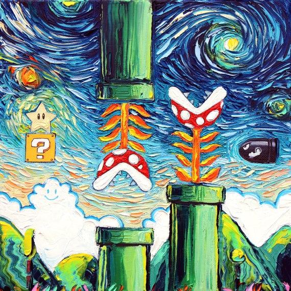 Mariokunst. (Foto: Sagittarius Gallery)