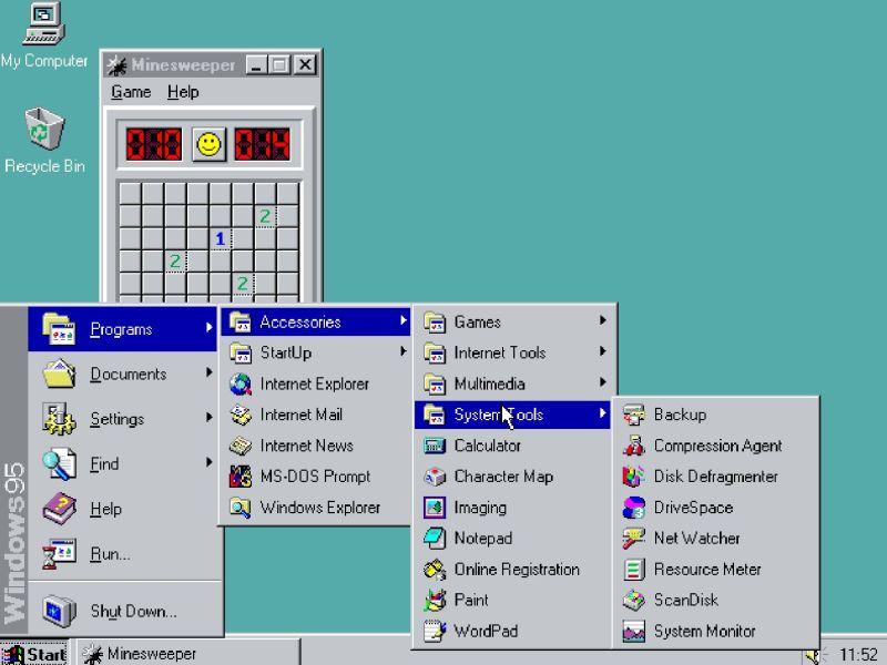 Wie wäre es mit einer Runde Minesweeper? (Foto: Screenshot)