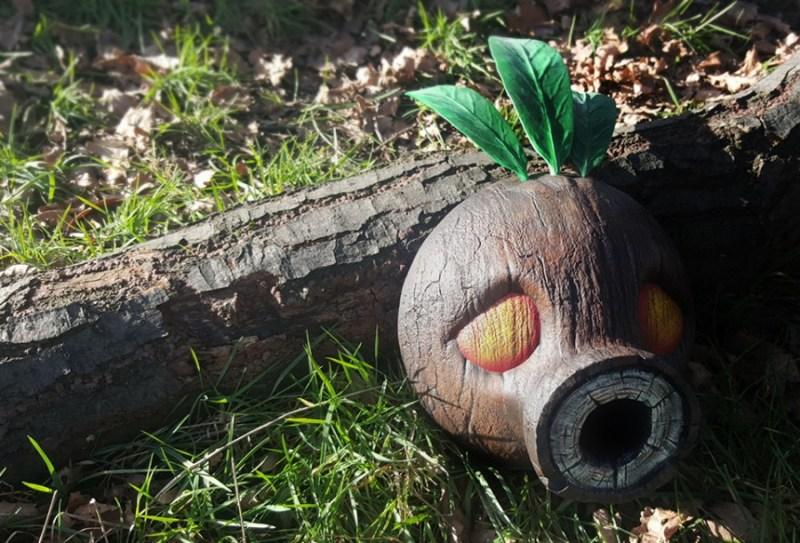 Das ist nicht Holz, sondern Harz. (Foto: James Sharp)