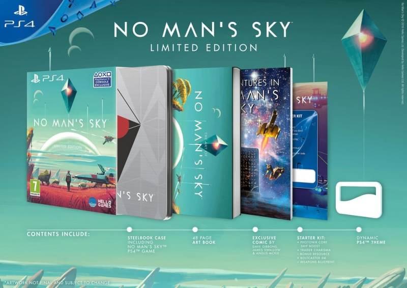 Das bietet die Limited Edition. (Foto: Hello Games)