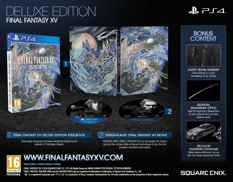 Inhalte der Deluxe-Edition. (Foto: Square Enix)