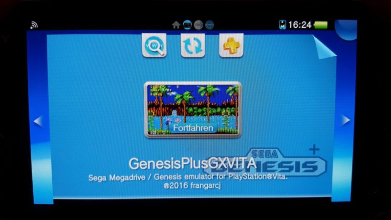 Der Mega Drive-Emulator funktioniert gut. (Foto: GamingGadgets.de)
