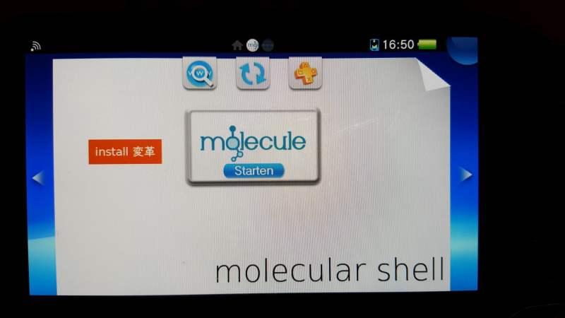 """Müsst ihr Molecule neu installieren, genügt ein Tipp auf """"Install"""". (Foto: GamingGadgets.de)"""