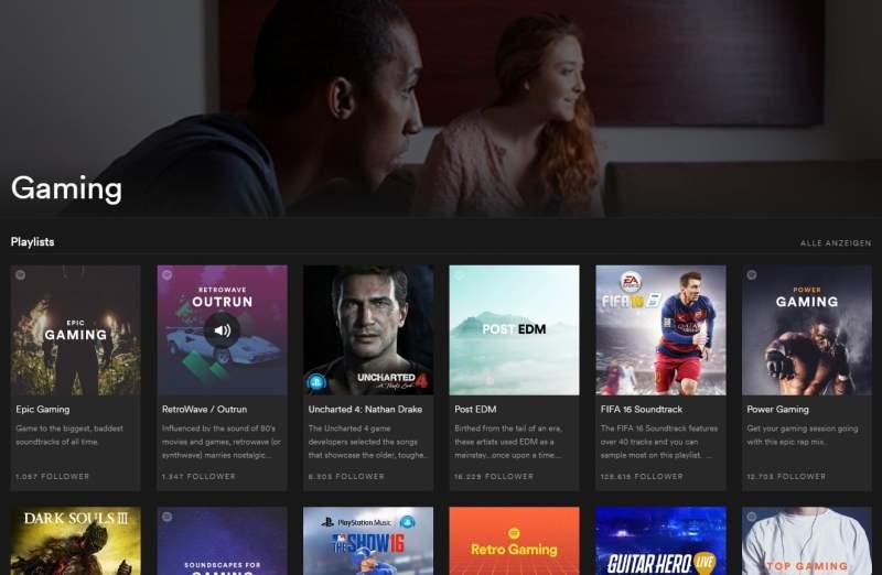 Ab sofort eine große Auswahl. (Foto: Screenshot / Spotify)