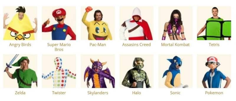 Das ist nur die Games-Kategorie. (Foto: Funidelia)
