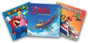 Nintendo: Super Mario Bros. und The Legend of Zelda als Kalender