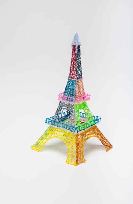 Eiffelturm. (Foto: 3Doodler)
