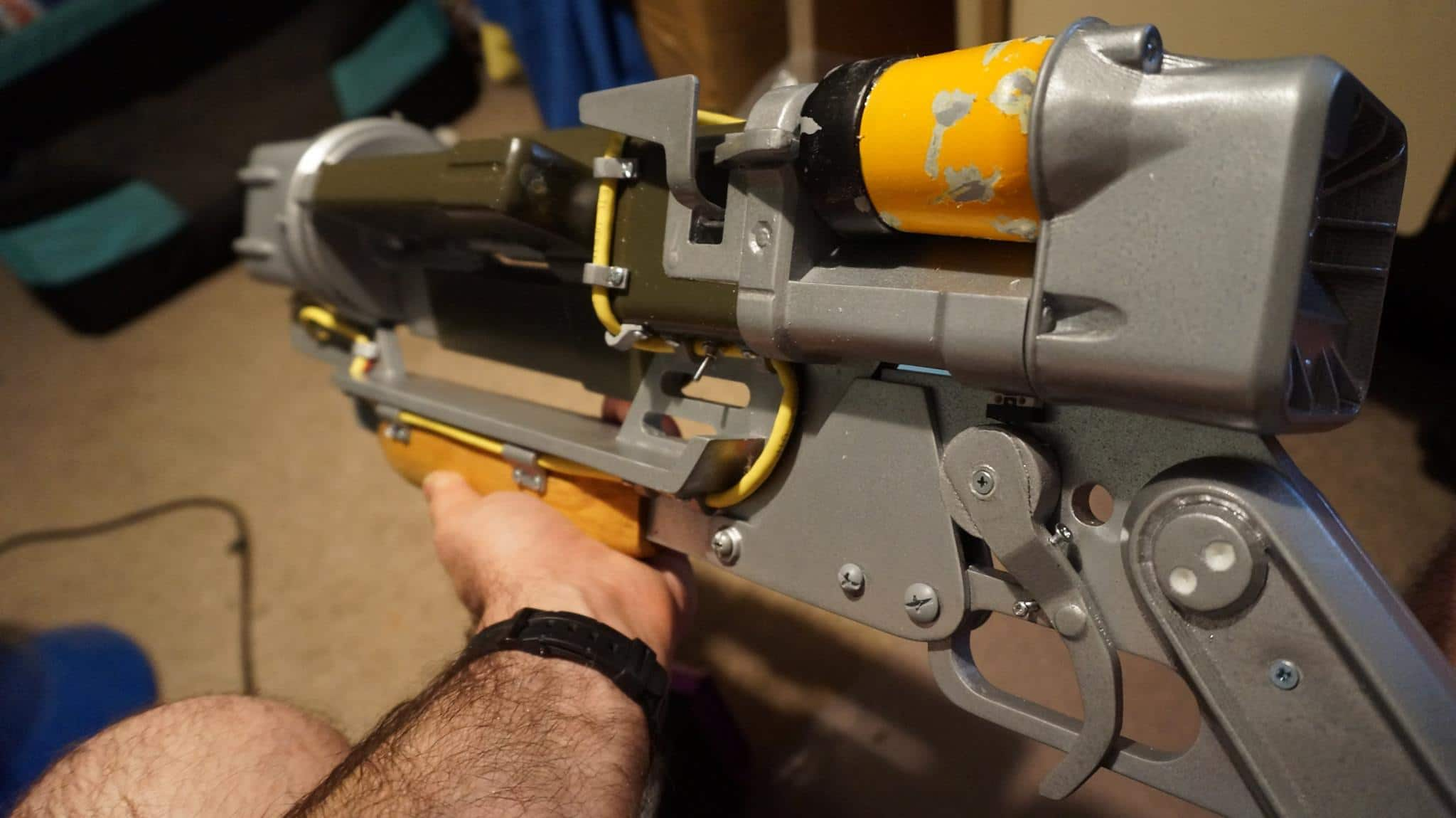 DIY Fallout 4 Laser Rifle: Voll funktionsfähiges ...