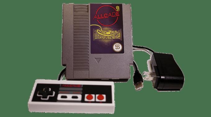 8bit - natürlich das NES-Modul. (Foto: MadeBySloan)