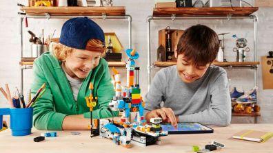 Spaß beim Experimentieren. (Foto: LEGO)