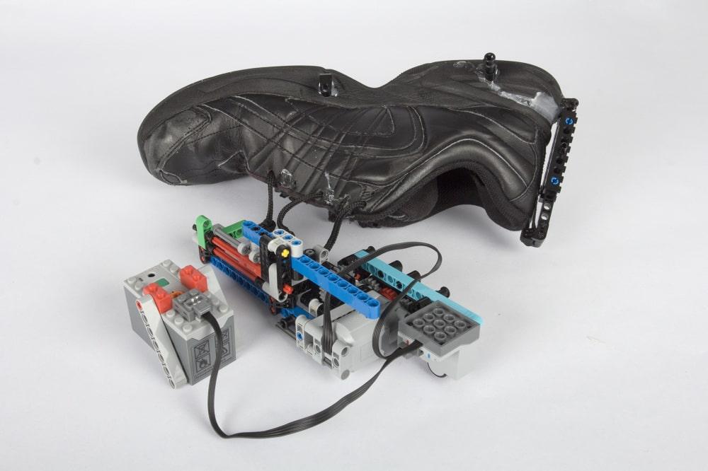 Schuhe wie LEGOMacht es Selbstbindende McFly aus Marty k0PnwO