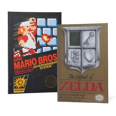 Mario und Zelda. (Foto: ThinkGeek)
