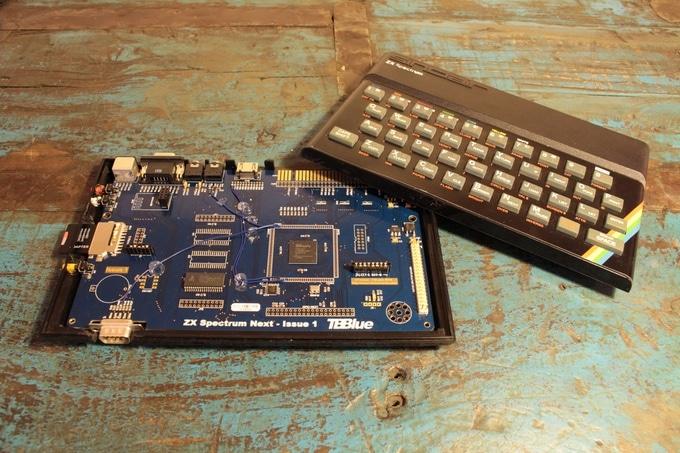 Neue Platine für alten Spectrum. (Foto: ZX Spectrum Next)