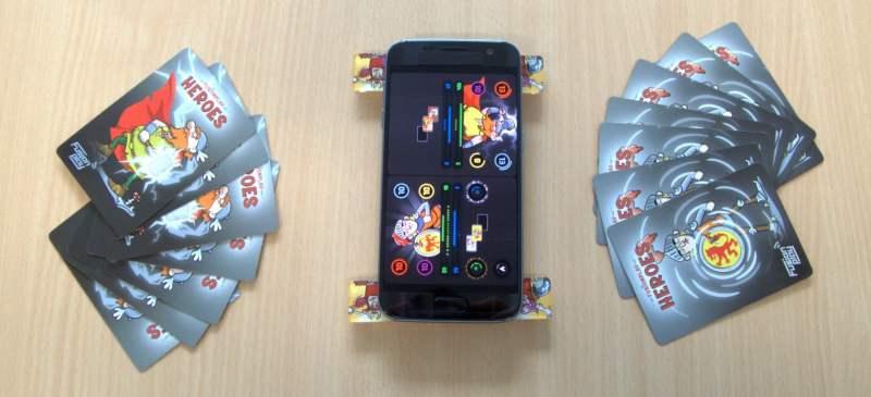 Ein typischer Spielaufbau. (Foto: FusionPlay)