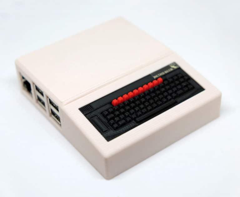 BBC Model B als Mini-Variante? Aber dieser Rechner ist in Deutschland eher ein Exot. (Foto: RetroPiCases)