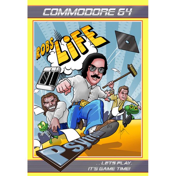 Von ihm gibt es sogar ein C64-Spiel. (Foto: Kickstarter)