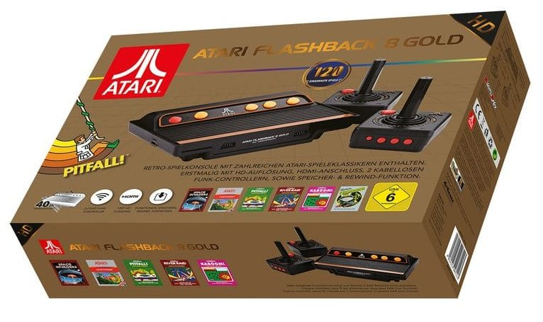 Atari Flashback 8 Gold Hd 120 Klassiker In Hd Neu Erleben