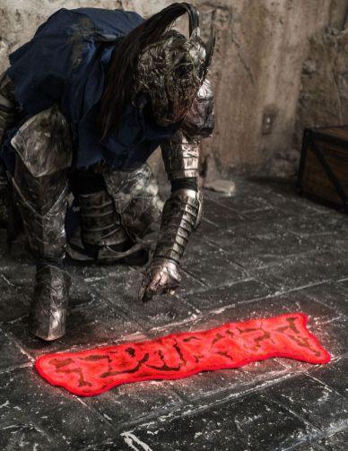 Dark Souls III Fußmatte. (Foto: Gecco)