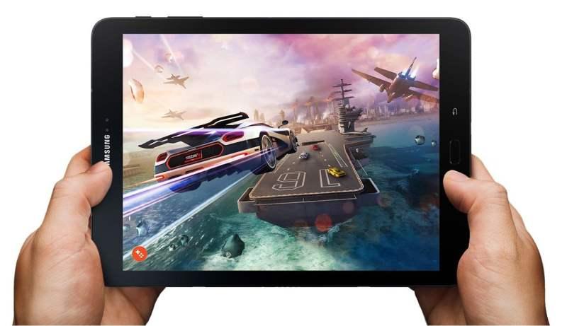 Auch Samsung bewirbt das Tab S3 mit Spiele-Elementen, zum Beispiel dem Game Launcher. (Foto: Samsung)