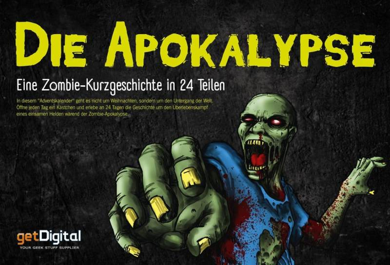 Eine Horrorgeschichte als Kalender. (Foto: GetDigital)