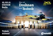Conrad Electronic Campus: Mega-Drohnen-Event in Berlin dieses Wochenende