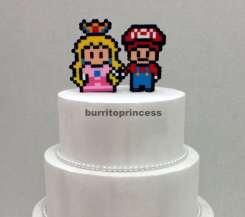 Mario und Peach. (Foto: BurritoPrincess)