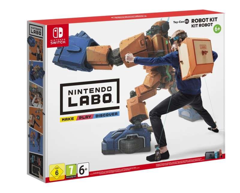 DAs Robo Set erscheint ebenfalls am 27. April 2018. (Foto: Nintendo)