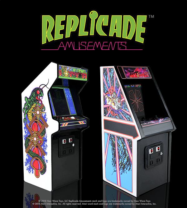 Tempest ist der zweite Automat der RepliCade-Reihe. (Foto: New Wave Toys)