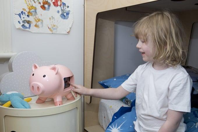 Das Schweinchen ist ganz schön groß. (Foto: GoSave Inc.)