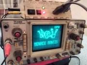 Ocelot Arcade System: Uraltes Oszilloskop wird zur Retro-Spielkonsole