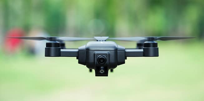 Die Drohne. (Foto: Mark)