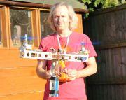 Bicopter: Diese Drohne besitzt nur zwei Propeller