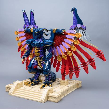 LEGO Bahamut. (Foto: Marius Herrmann)