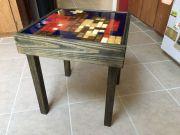 8Bit Mario Tisch: Mosaik-Möbelstück für Retro-Fans