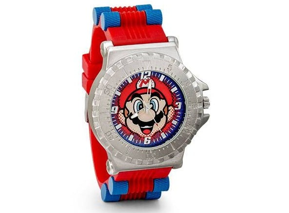Die Mario Armbanduhr in voller Pracht. (Foto: ThinkGeek)