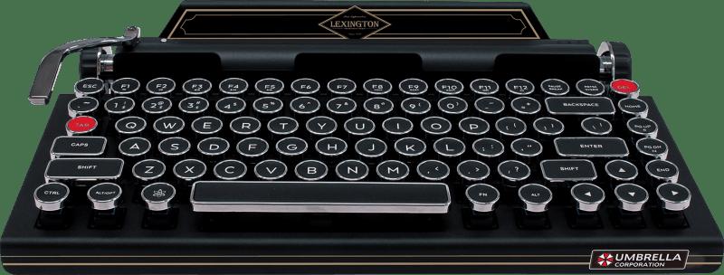 Die Schreibmaschine aus Resident Evil 2. (Foto: Capcom)